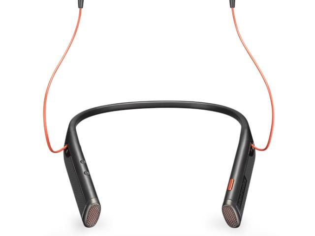 Plantronics представляет первую Bluetooth гарнитуру с наушниками-вкладышами и шейным ободком:Voyager 6200 UC